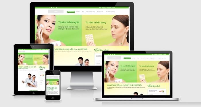 Thiết Kế Web Bán Hàng Mỹ Phẩm Online Giá Rẻ